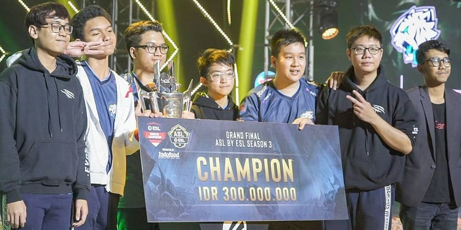 EVOS.AOV Siap Banggakan Indonesia di Group Stage AOV International Championship (AIC) 2019