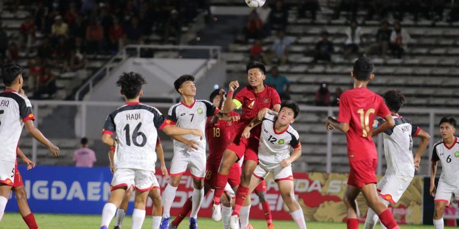 Bima Sakti Ingin Penonton Penuhi SUGBK Saat Timnas U-16 Indonesia Hadapi China