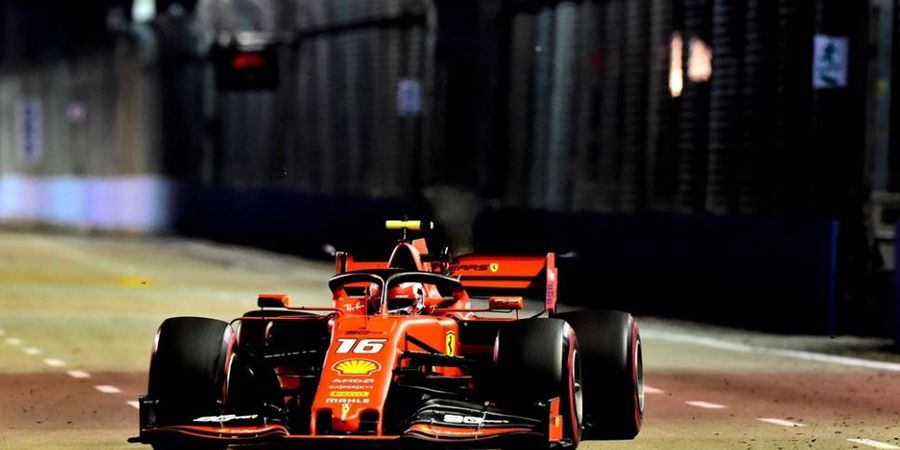 Marina Bay Sulit untuk Ferrari, Charles Leclerc Pilih Realistis