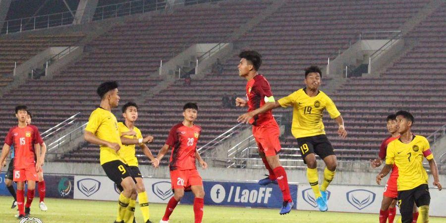 Kejutan Kualifikasi Piala Asia U-16 2020, Laos Mampu Kalahkan Malaysia