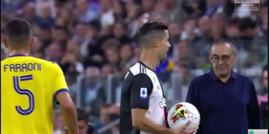 Sarriball Dinilai Tidak Pas dengan Gaya Main Cristiano Ronaldo