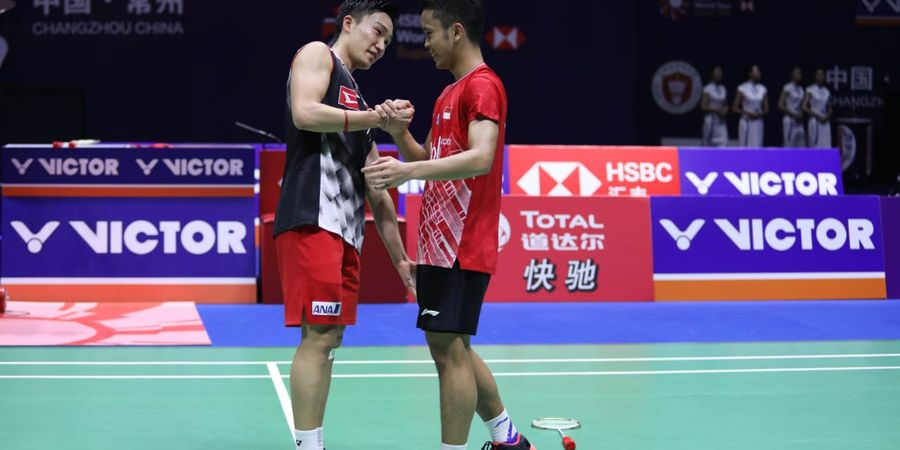 5 Fakta Menarik dari Laga Anthony Vs Momota pada Final China Open 2019