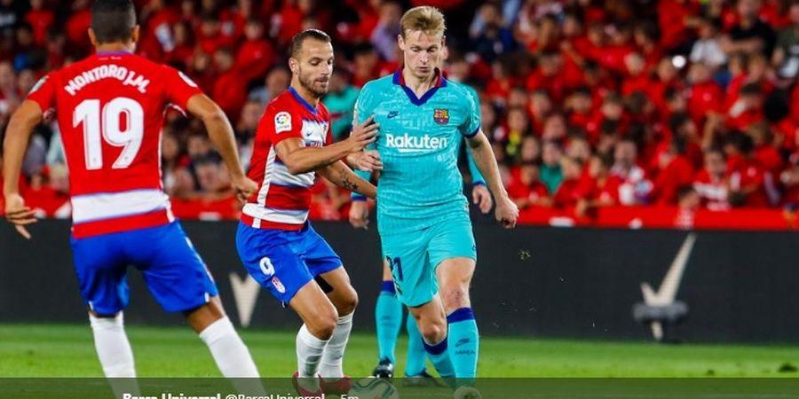 Granada Vs Barcelona - Tanpa Messi, Barcelona Tertinggal 0-1 di Babak I