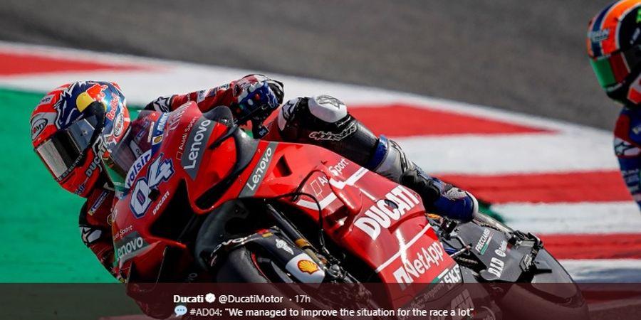 MotoGP Aragon 2019 - Andrea Dovizioso Sudah Tahu Bakal Raih Podium