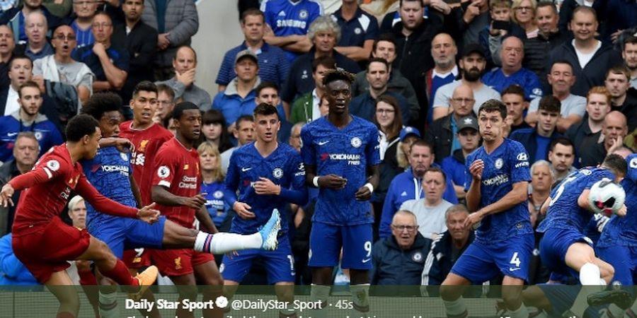 Hasil Liga Inggris - Menang Tipis atas Chelsea, Liverpool Kokoh di Puncak