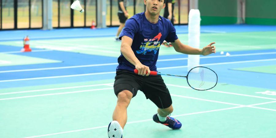 Jonatan Christie Ingin Samai Pencapaian pada Korea Open Tahun Lalu