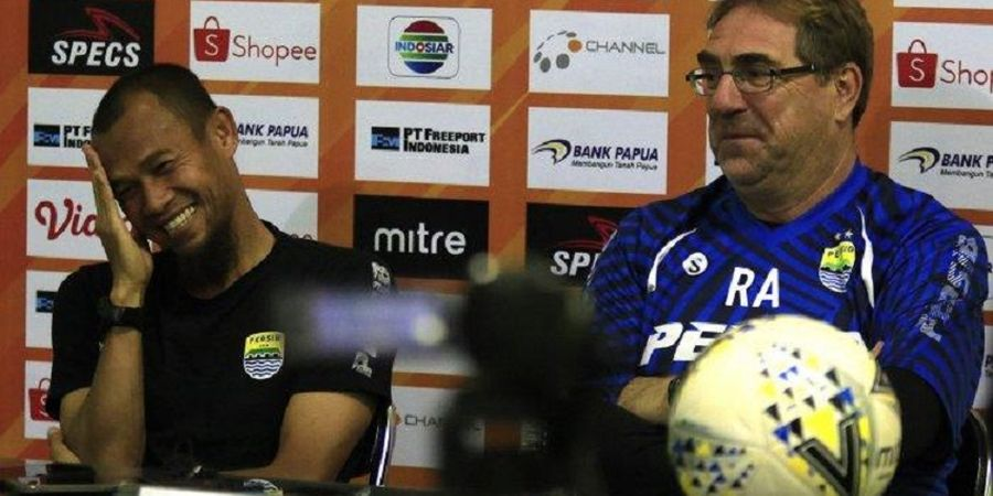 Persib Sudah Sangat Siap Hadapi Madura United, Robert Rene Alberts Senang