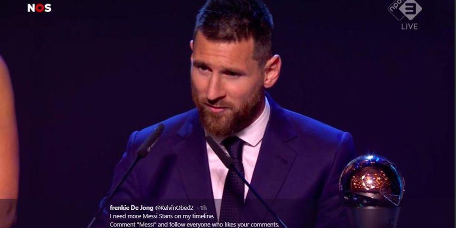 Jadi Pemain Terbaik Dunia Versi FIFA, Messi Tetap Diragukan Raih Ballon d'Or