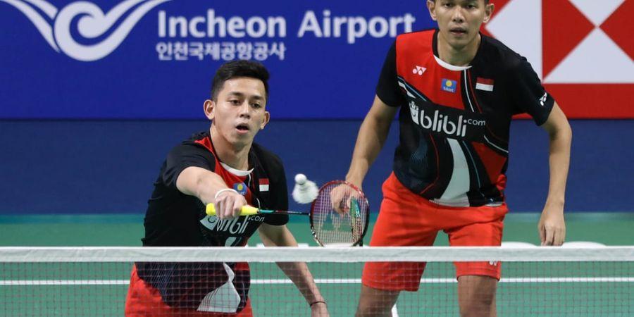 Hasil Korea Open 2019 - Kalahkan Wakil China, Fajar/Rian Raih Satu Tiket Final