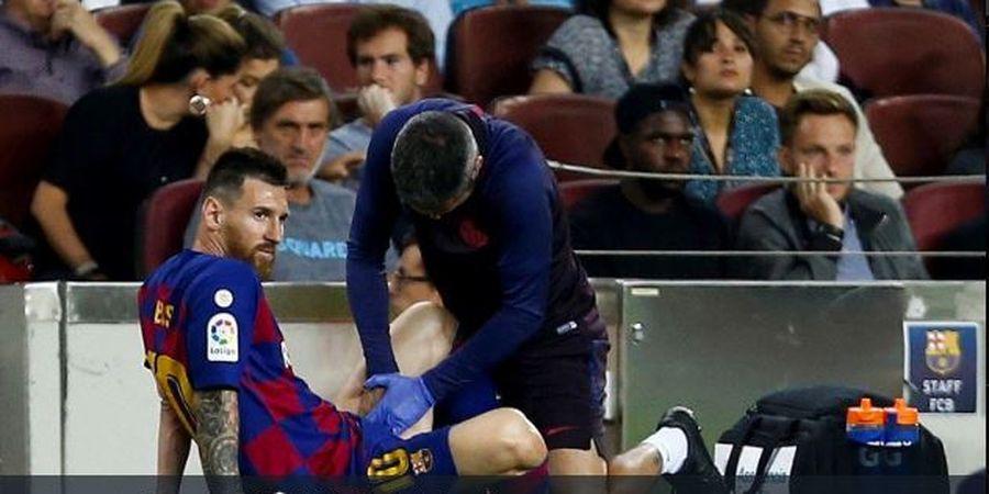 Lionel Messi Memasuki Masa 'Suram' di La Liga Gara-gara Cedera