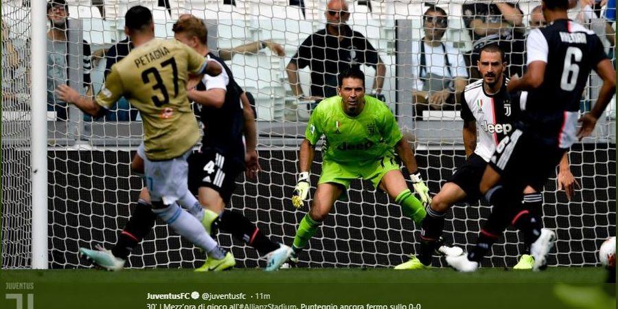 Hasil Babak I Juventus Vs SPAL - Tembakan Keras Pjanic Bawa Juventus Unggul