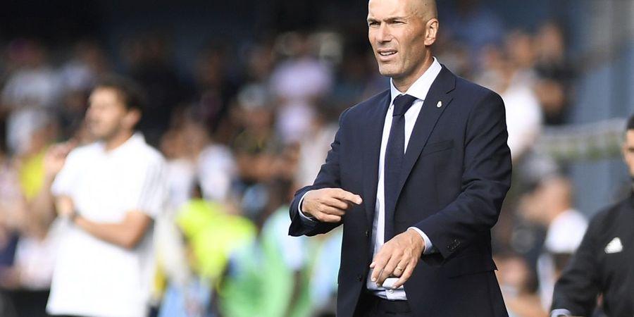 Pemain Real Madrid Banyak yang Cedera, Zidane Tetap Sabar