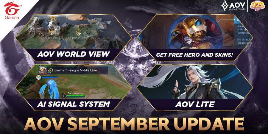 AOV Lite Hadir di Update AOV Bulan September