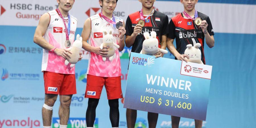Korea Open 2019 - Kamura/Sonoda Beri Pujian Khusus kepada Rian