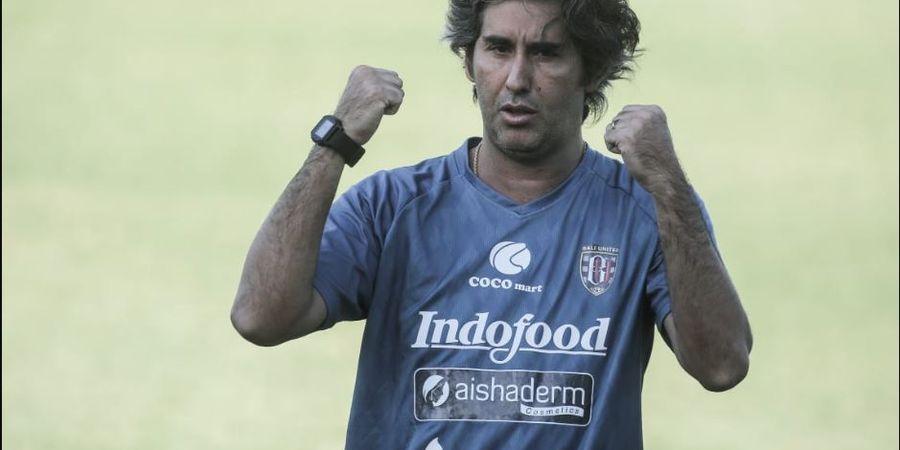 Rekor 50 Kemenangan Stefano Cugurra di Liga 1, antara Bali United dan Persija