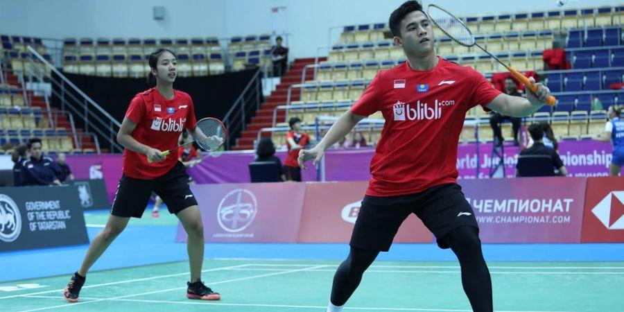 Kejuaraan Dunia Junior 2019 - Indonesia Menang Mutlak atas Uganda