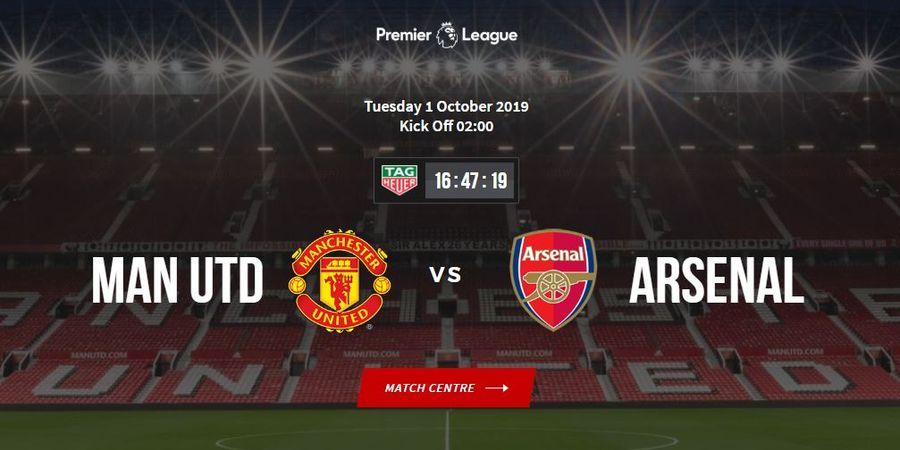 Manchester United Vs Arsenal - Prakiraan Starting XI, Statistik Kedua Tim dan Bursa Prediksi