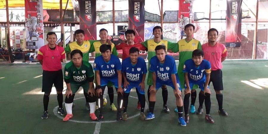 12 Fan Klub Sepak Bola Maju ke Babak Eliminasi Area Jakarta EURO Futsal Championship 2019