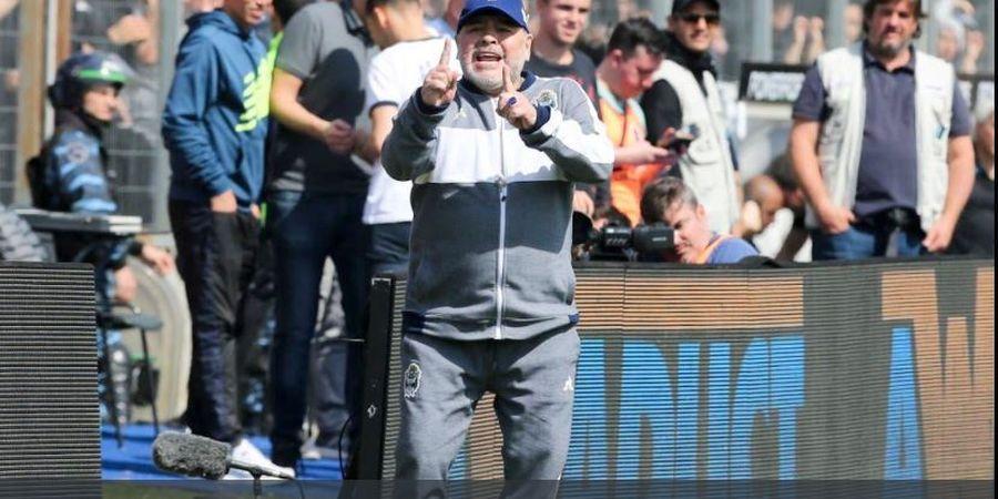 Apesnya Diego Maradona, 3 Kali Kalah dari 3 Partai Liga Argentina