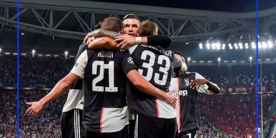 Hasil Liga Champions - Cristiano Ronaldo Tinggalkan Lionel Messi, Juventus Pesta Gol
