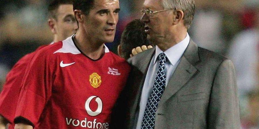 Hubungan Roy Keane dan Alex Ferguson Ternyata Hanya Sebatas Profesionalisme