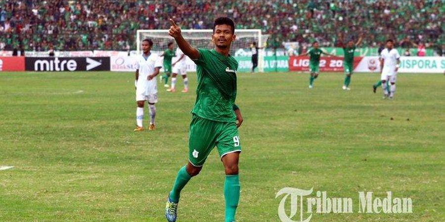 Lawan Sriwijaya FC, Ilham Fathoni Berhasil Akhiri Paceklik Gol
