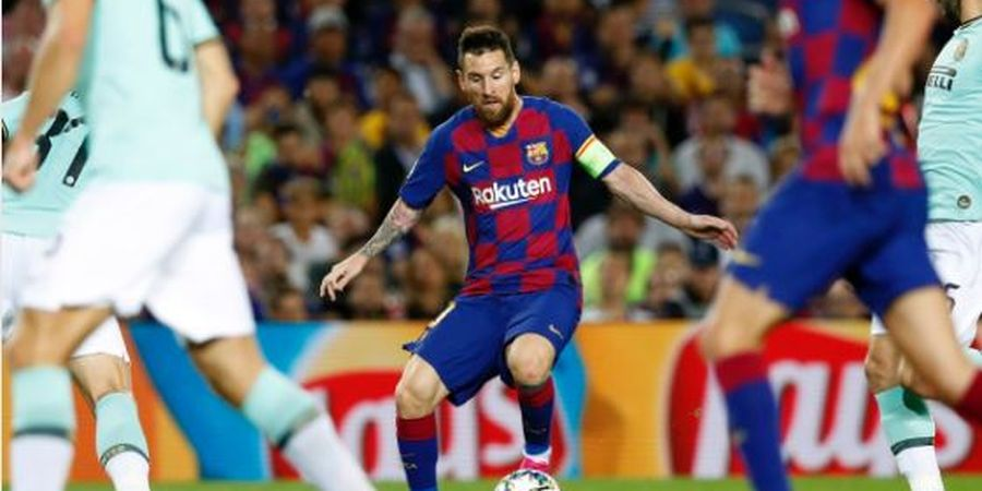 Rating Pemain Barcelona Vs Inter Milan - Messi Tinggi, Griezmann Jeblok