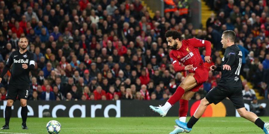 Mohamed Salah Jalani Latihan Khusus Jelang Laga Kontra Man United