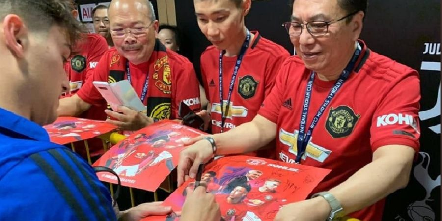 Kisah Saat Lee Chong Wei Tak Sengaja Dicuekin Bintang Anyar Manchester United