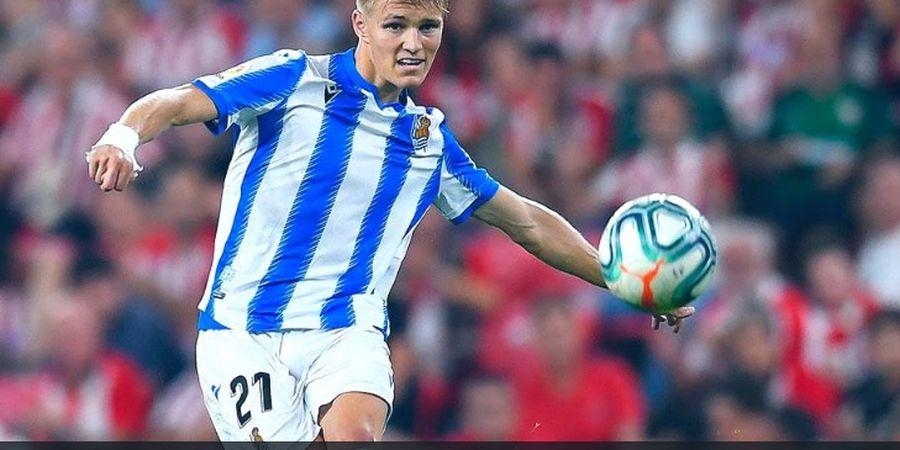 Martin Odegaard Bikin Peluang Lebih Banyak dari Semua Pemain Real Madrid