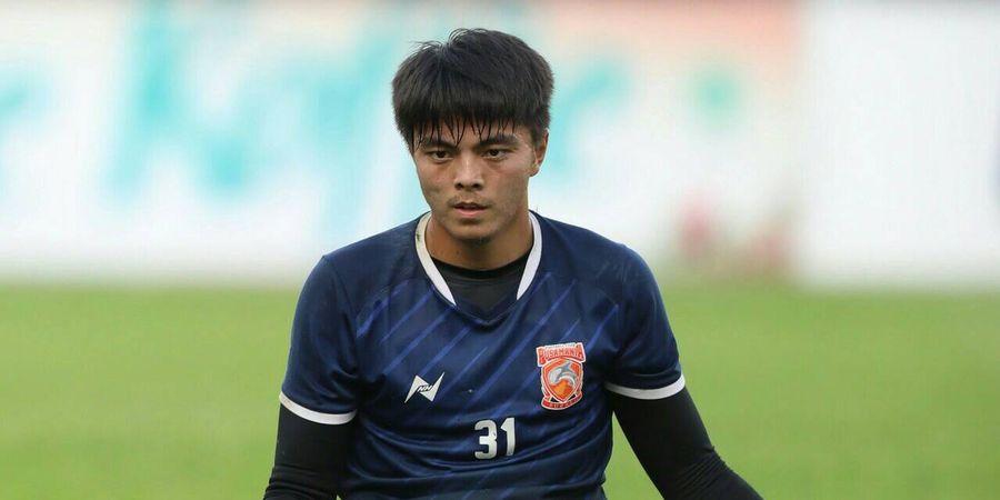 Gianluca Pandeynuwu Lanjutkan Tradisi Kiper Tangguh Produk Borneo FC
