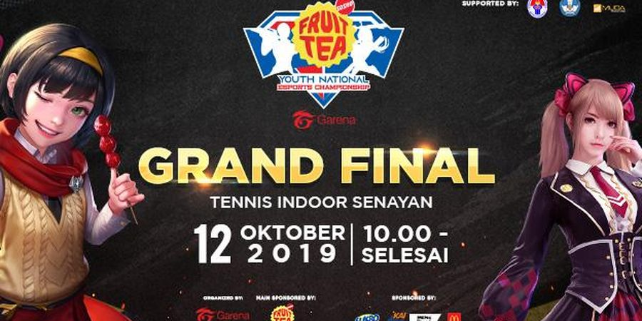 16 Tim Sekolah Siap Perebutkan Piala Menpora di Grand Final Fruit Tea YNEC 2019