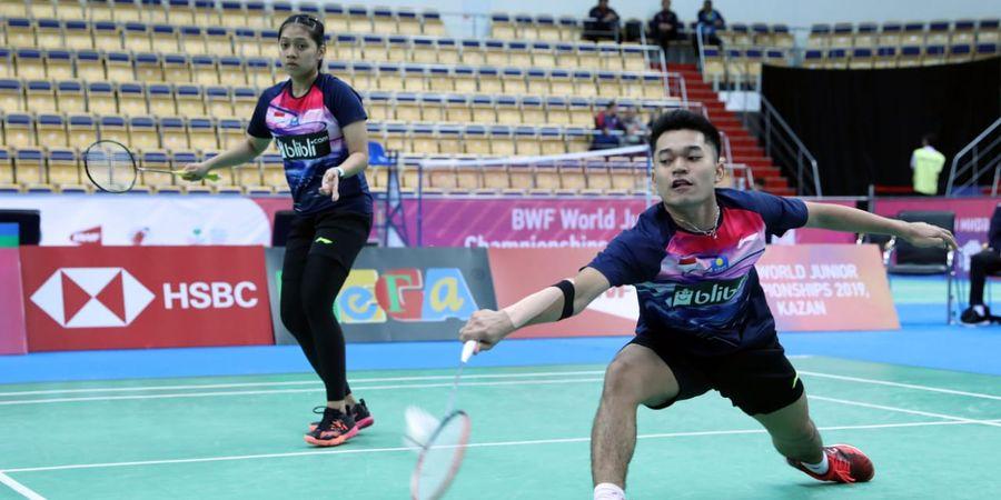 Kejuaraan Dunia Junior 2019 - Leo/Indah Melesat ke Semifinal