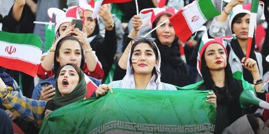 Pertama Kali dalam 40 Tahun Ditonton Perempuan, Timnas Iran Cetak 14 Gol