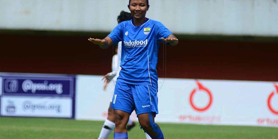 Cetak Hat-trick Perdana, Striker Persib Putri Tak Ingin Jemawa