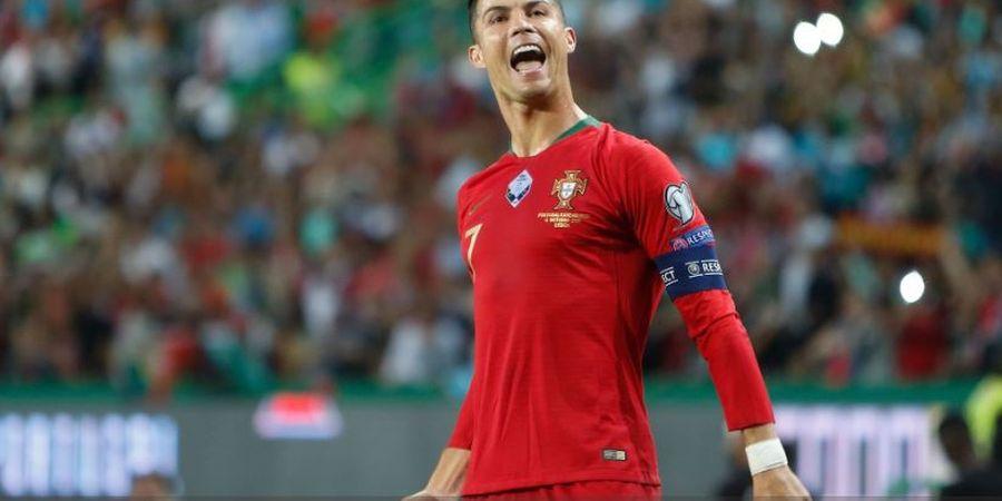 Ronaldo Belum Pernah Cetak Gol Kelipatan 100 Bersama Portugal