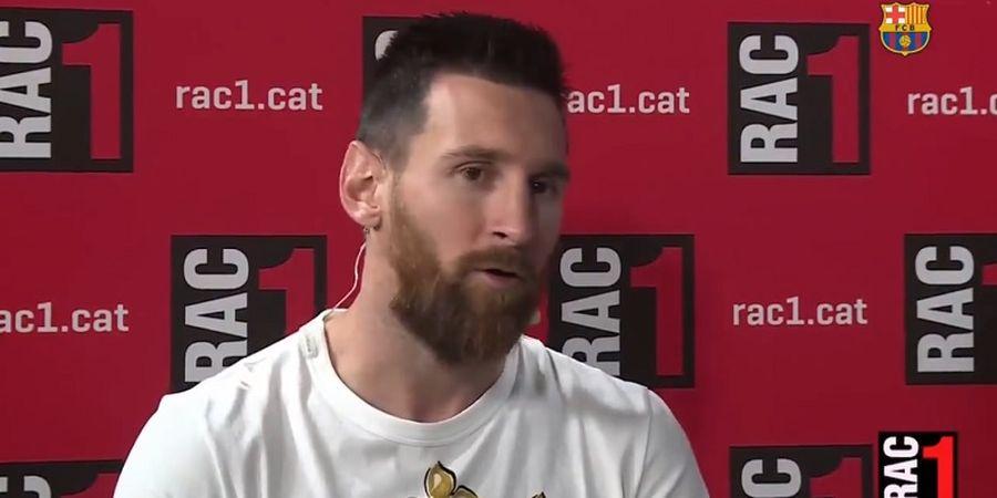 Messi: Argentina Gagal karena Dibunuh Harapan Sendiri