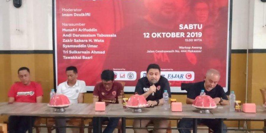 PSM Makassar Beri Kesempatan Legenda Klub Terlibat di Tim, tapi...