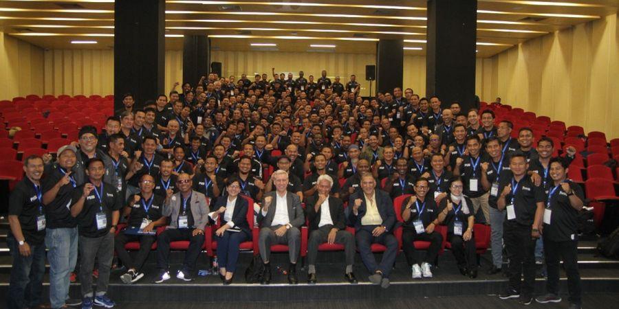 Pelatih Berbagai Lisensi Hadiri Konferensi Pelatih Nasional PSSI
