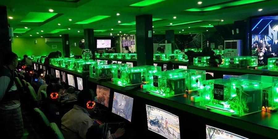 GeForce Cup Esports Competition Pelopori Turnamen untuk Jaringan iCafe Terbesar di Asia