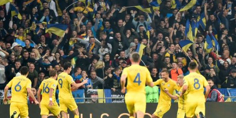VIDEO - 2 Gol Ukraina Buat Cristiano Ronaldo dkk Terdiam