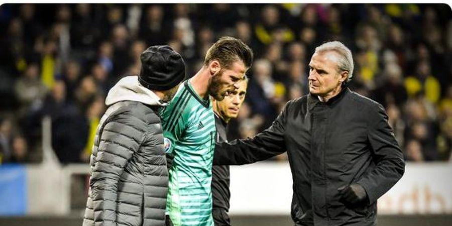 David de Gea Cedera Saat Membela Spanyol di Kualifikasi Euro 2020