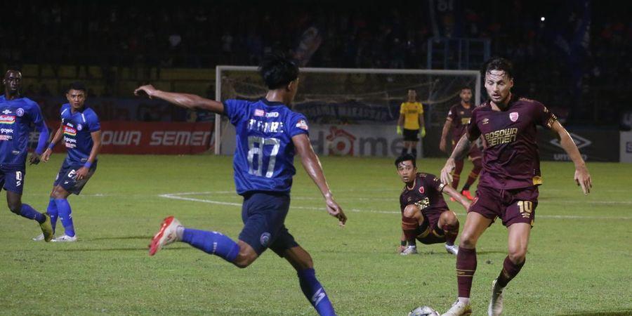 PSM Makassar Pesta Gol ke Gawang Arema FC di Stadion Andi Mattalatta