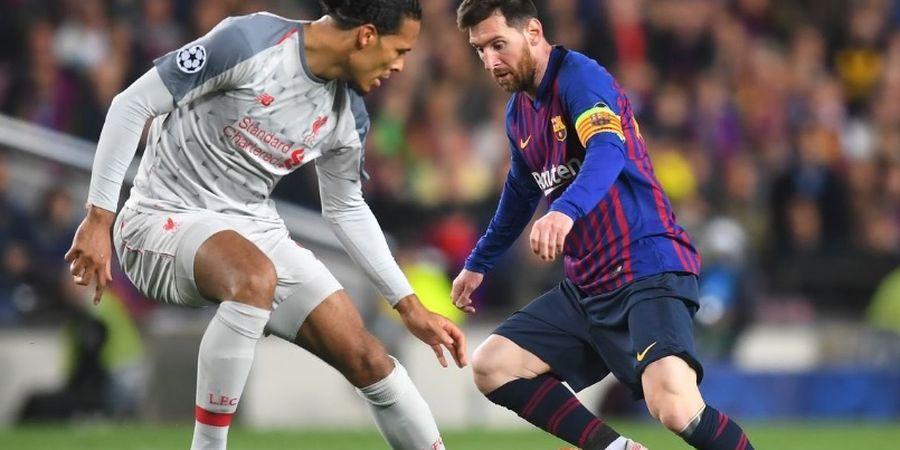 Penyebab Utama Messi Mati Kutu Hadapi Van Dijk di Liga Champions