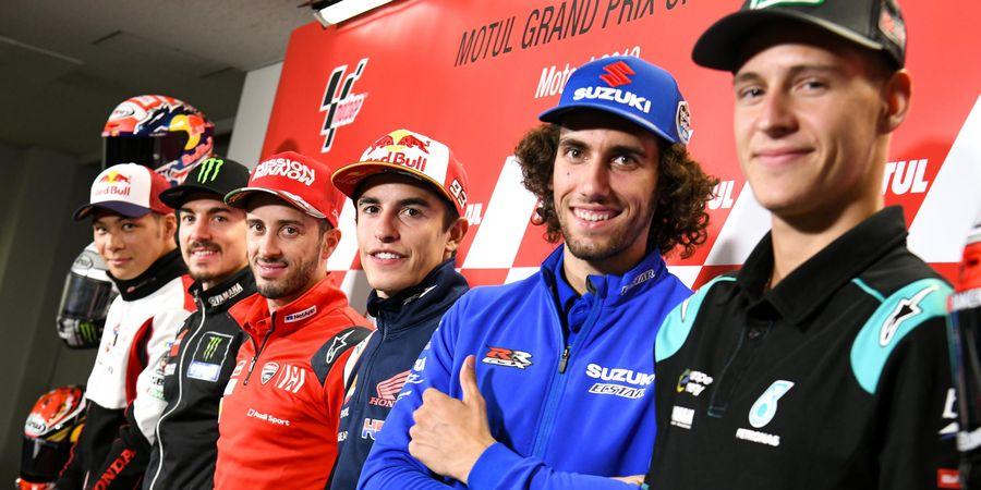 Jadwal MotoGP Jepang 2019 - Perayaan Marquez dan Perburuan Posisi Runner-up