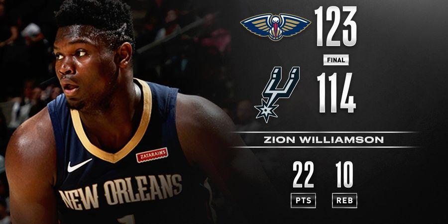 Dampak Cedera Zion Williamson ke Pelicans dan NBA 2019-2020