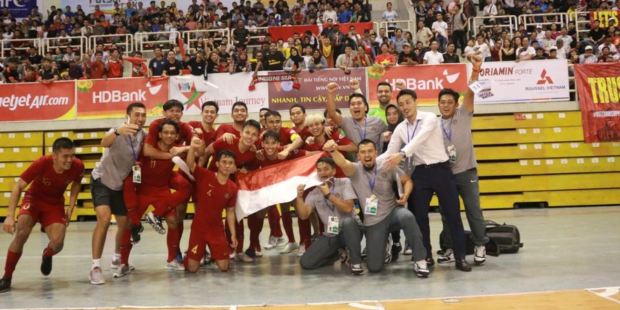 Link Live Streaming Final Piala AFF Futsal 2019: Indonesia Vs Thailand