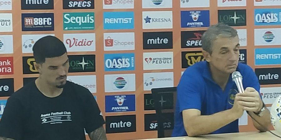 Arema FC Vs Madura United, Milo Prediksi Sape Kerrab Tak Parkir Bus