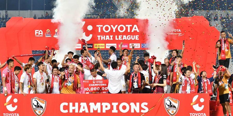 VIDEO - Detik-detik Menegangkan Penentuan Gelar Juara Liga Thailand 1