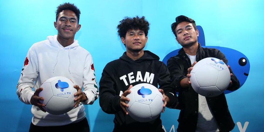 Bersama Mola TV, Berdonasi Bisa Dilakukan Sambil Menyaksikan Aksi Garuda Select